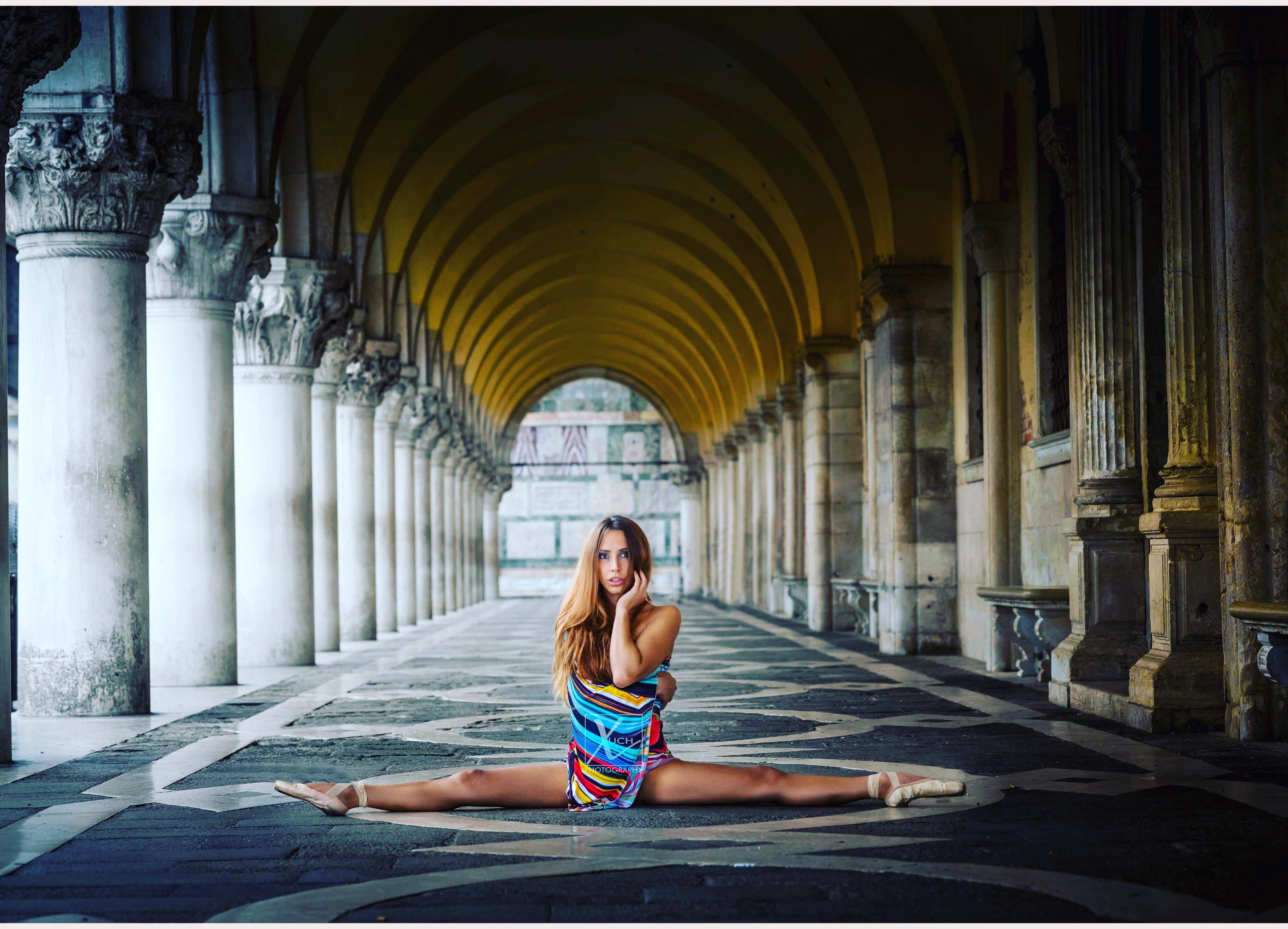 Desideria Chinzari Sacchettini. La danza aerea è <b>arte</b>